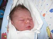 Jmenuji se Filípek Hradil. Narodil jsem se v děčínské porodnici 30. října ve 12.22. Byla to fuška, to mi věřte. Měřil jsem  49 cm a vážil 3,48 kg. Jsem z Růžové a rád spinkám.