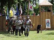 Zámecké slavnosti ve Šluknově přilákaly zástupy lidí.