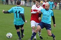 O DERBY NEPŘIJDEME. I v další sezoně budou hrát v krajském přeboru týmy Jílového a Modré. Fanoušci se tak mohou těšit na tradiční derby zápasy.
