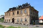 Takto vypadá dům po požáru nyní.