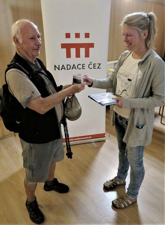 Nejstarším účastníkem turistického pochodu byl František Švejdík (86) z Děčína, který se vydal na 13ti km trasu.