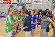 FINÁLOVÉ BOJE. Sportovní liga základních škol má za sebou finále v basketbalu.