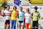 TOUR DE FEMININ 2015 - první etapu vyhrála Brzeznová-Bentkowská z Polska.