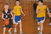 Nejmladší minižáci v Chomutově jednou vyhráli.