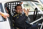 DĚČÍNSKÝ BOURÁK. Aleš Kubík řádí v kategorii RallyeCross.