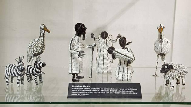 Výstava Za Ježíškem do Afriky.