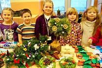 Děti uspořádaly trhy