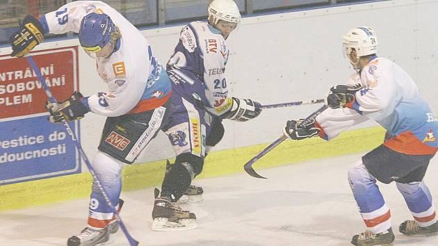 V posledním přípravném utkání podlehl HC Děčín domácí Kadani.