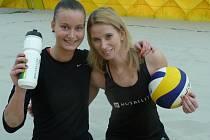 ČESKÉ DUO Vorlová (vpravo) a Třešňáková se na turnaj SP těší.