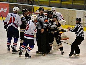 Sport hokej II. liga Sokolov - Děčín