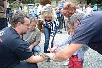 Děčínská zoo oslavila Mezinárodní den zvířat.