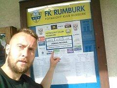 TEĎ PATŘÍM DO RUMBURKU. Jaroslav Dolejš, rekordman v počtu fotbalových angažmá.