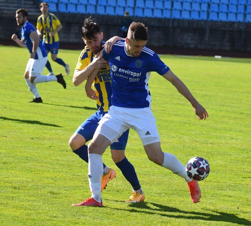Fotbalisté Varnsdorfu doma remizovali s Jihlavou 1:1.