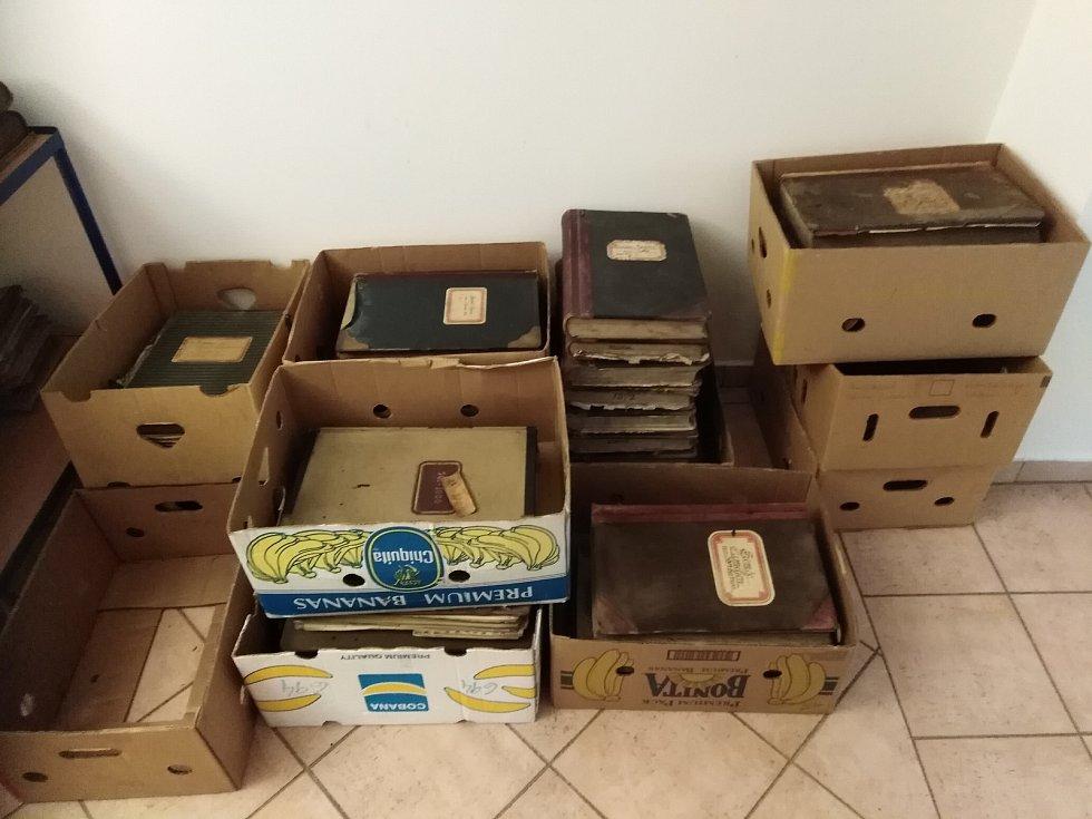 Ve Varnsdorfu nalezli vzácné archiválie.