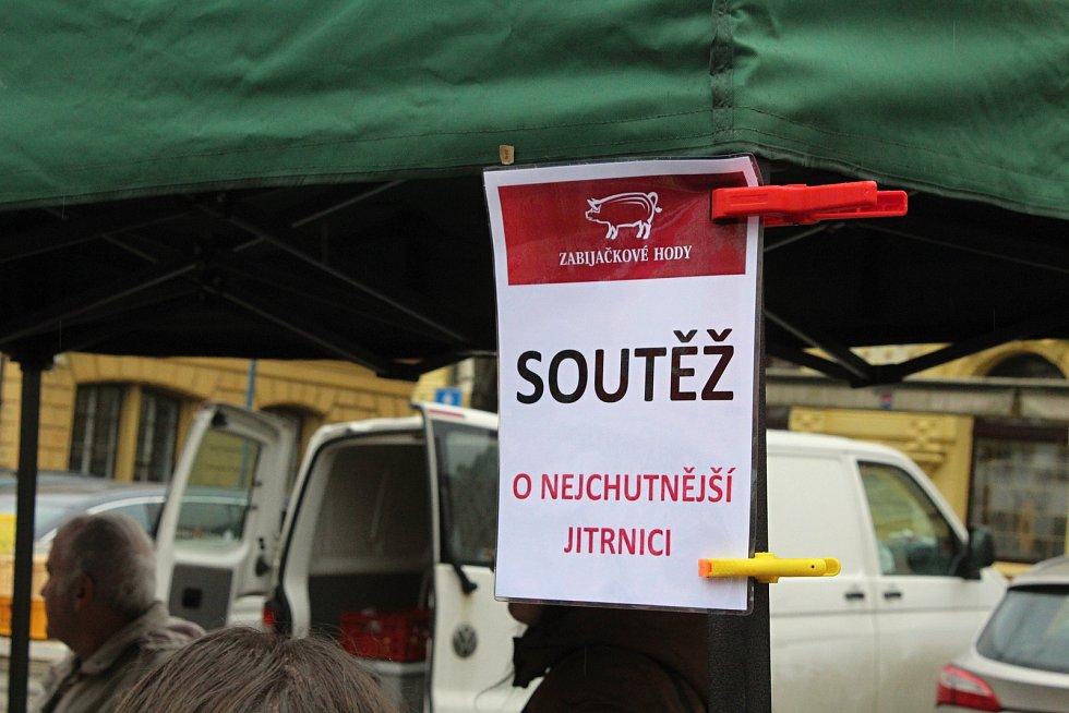 Zabijačkové hody v Děčíně.