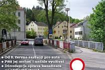 Dolní Poustevna: Stop autům do Německa