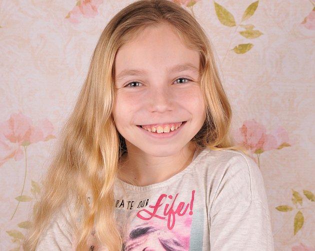4. Hana Hašková - 11let, Děčín.