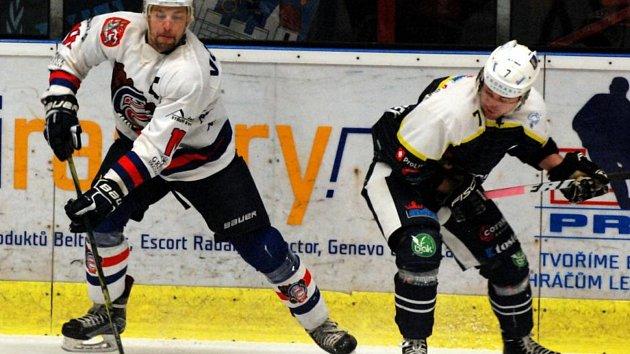 NEOBLÍBENÝ SOUPEŘ. Děčínští hokejisté podlehli Trutnovi i počtvrté v sezóně. A právě s tímto soupeřem se Medvědi utkají v prvním kole play-off.