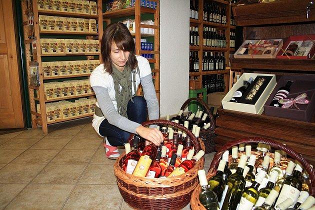 Svatomartinské víno koupíte i v Děčíně