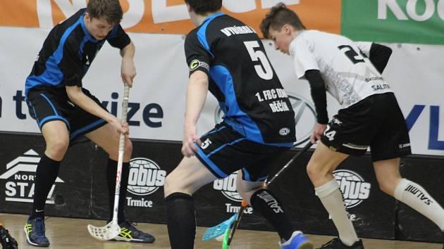 ŠKODA. Děčínští florbalisté byli kousek od postupu do čtvrtfinále.