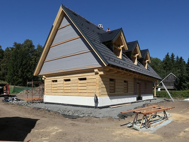 Dům Karla Gotta v Doubici, září 2016.