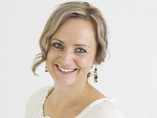 Organizátorka Irena Kubicová.