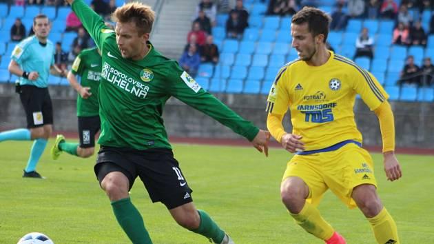 FORTUNA NÁRODNÍ LIGA. FK Varnsdorf doma hrál proti Baníku Sokolov.