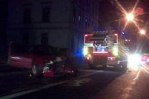 Při dopravní nehodě v Děčíně zemřel jeden člověk.