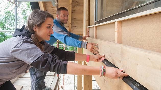 Bobtnající Tasovice: desítky nových domů. Staví tam lidé ze Znojma nebo Hodonic