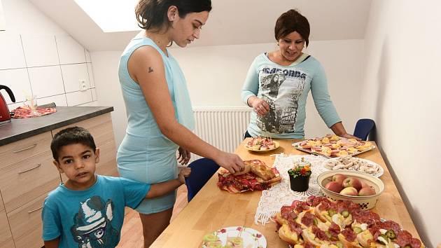 Lidé v azylovém domě v Rumburku si také užili Vánoce.