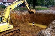 V Jiřetíně začali se stavbou čističky odpadních vod