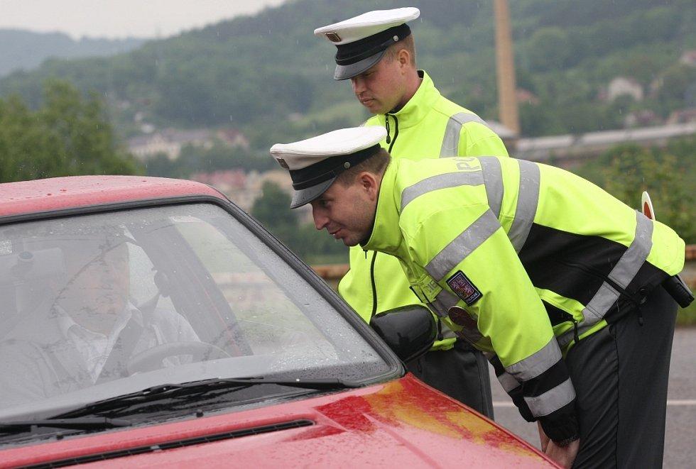 Měření zraku bylo pro řidiče dobrovolné.
