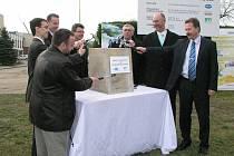 Slavnostní zahájení rekonstrukce čističky odpadních vod ve Varnsdorfu