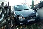 Dopravní nehoda v Rumburku.
