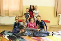 Prvňáčci ze Základní školy Dolní Habartice