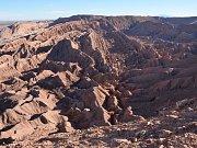 Valle de la Muerte - údolí smrti po chilsku.