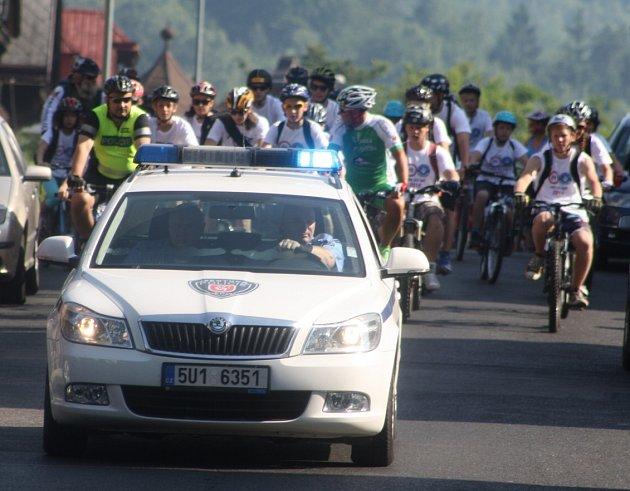 Den bez aut: Desítky cyklistů profrčeli městem.