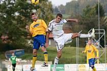 VARNSDORF porazil 3:1 Karvinou a vede druhou ligu! Jednu ze tří branek domácích vstřelil Radim Breite (vlevo).