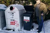 V Krásné Lípě mají popelnice pro prasata.