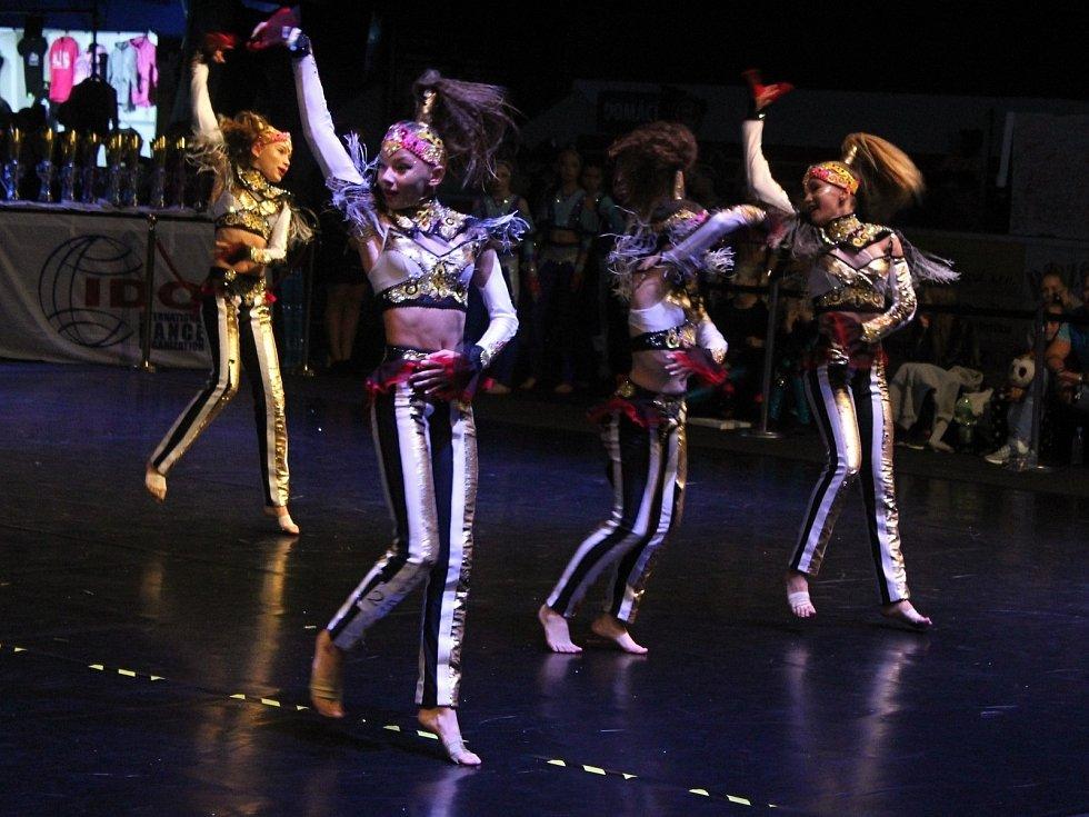 Taneční mistrovství světa DanceShock hostil poprvé v historii Děčín.