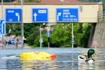 Povodně na Děčínsku 2013.
