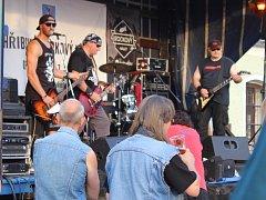 V Chřibské to rozbalilo osm rockových kapel.