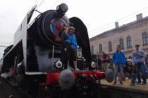 Děčínská parní lokomotiva 475.179 - Šlechtična