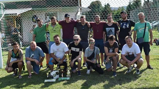 Fotbalový turnaj v Dolních Habarticích vyhráli fotbalisté Boletic nad Labem.
