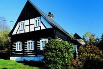 Podstávkový dům v Kamenické Stráni.