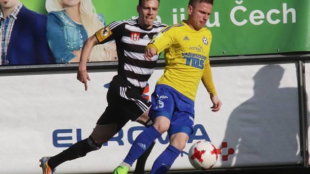BOD. Fotbalisté Varnsdorfu urvali v Českých Budějovicích remízu 2:2.
