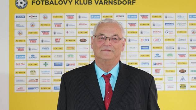 VLASTIMIL GABRIEL - šéf varnsdorfského fotbalu.