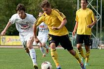 0:6. Takovým výsledkem skončilo utkání juniorské ligy mezi Varnsdorfem (bílá) a Bohemians Praha 1905.