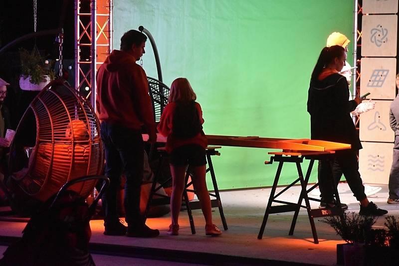 Na děčínské Mariánské louce vystoupil také David Koller.