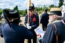 Ve Varnsdorfu v sobotu odhalili obnovený pomník válečným obětem.